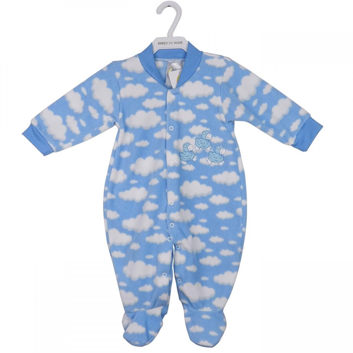 46cdbc05b Bizz Store - Macacão Infantil Recém Nascido Berço de Ouro Ovelha