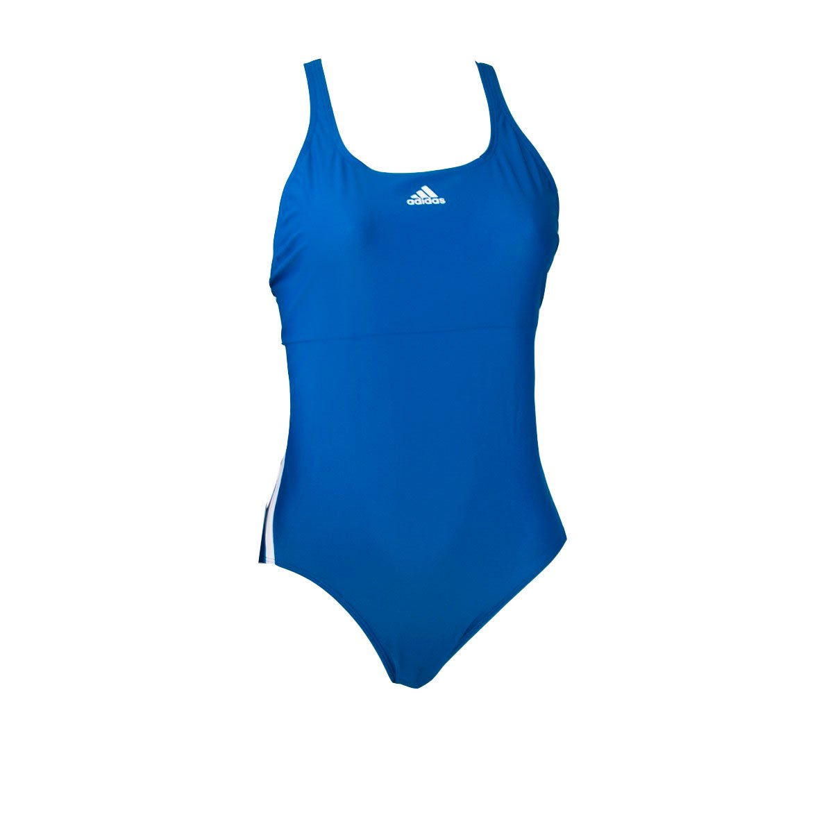 Bizz Store - Maiô Feminino Adidas Infinitex 3S Natação Azul ac15814fdeb
