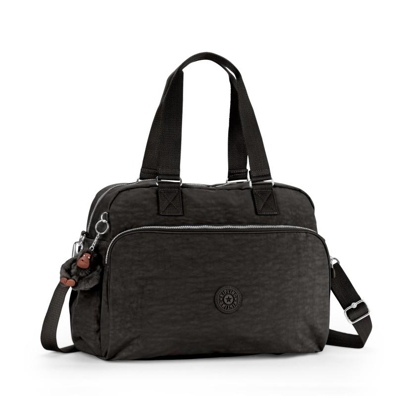 6e8cc0109 Bizz Store - Mala De Mão Sacola de Viagem Kipling July Bag Preta