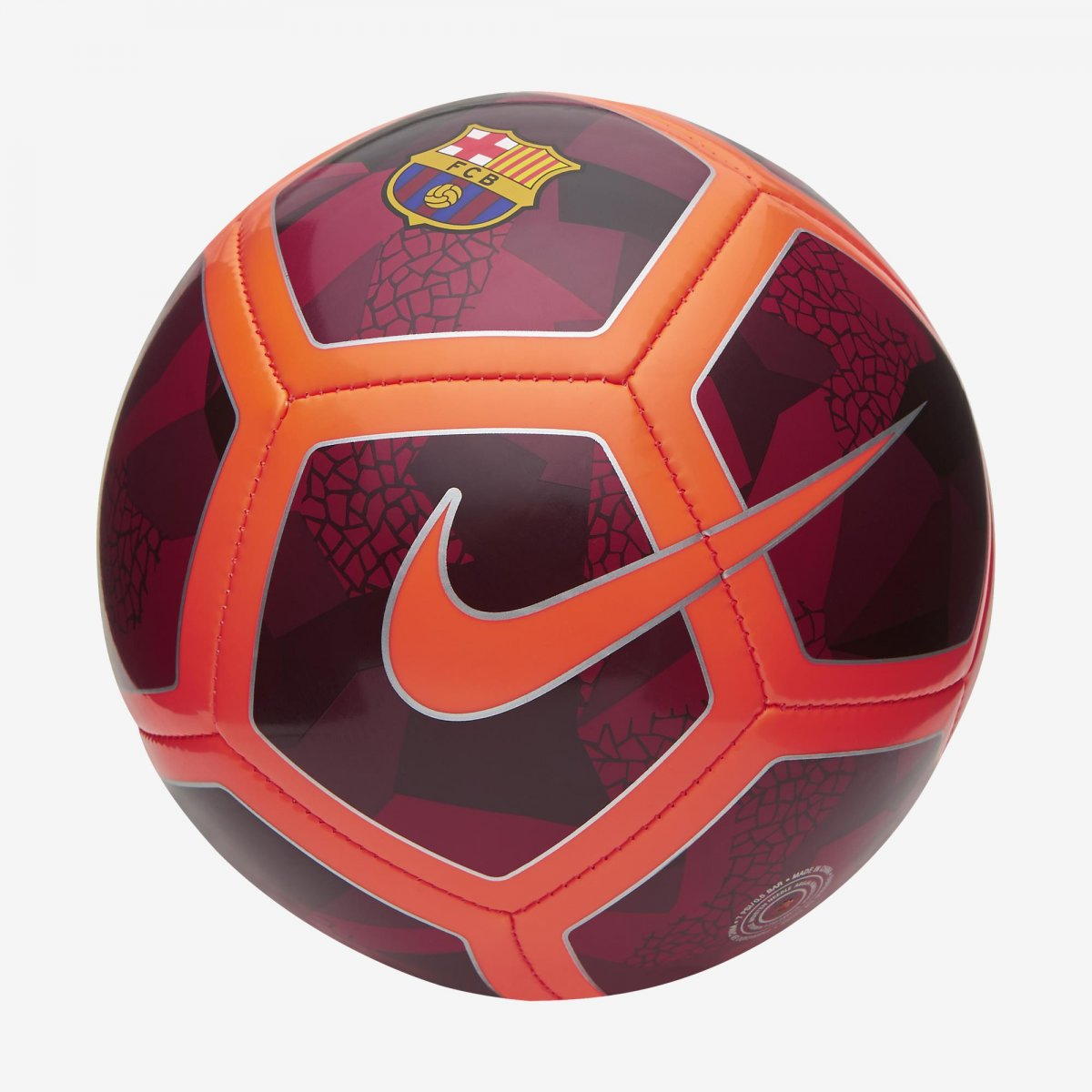 Bizz Store - Mini Bola Futebol De Campo Nike Barcelona Skills d61f41af2177c