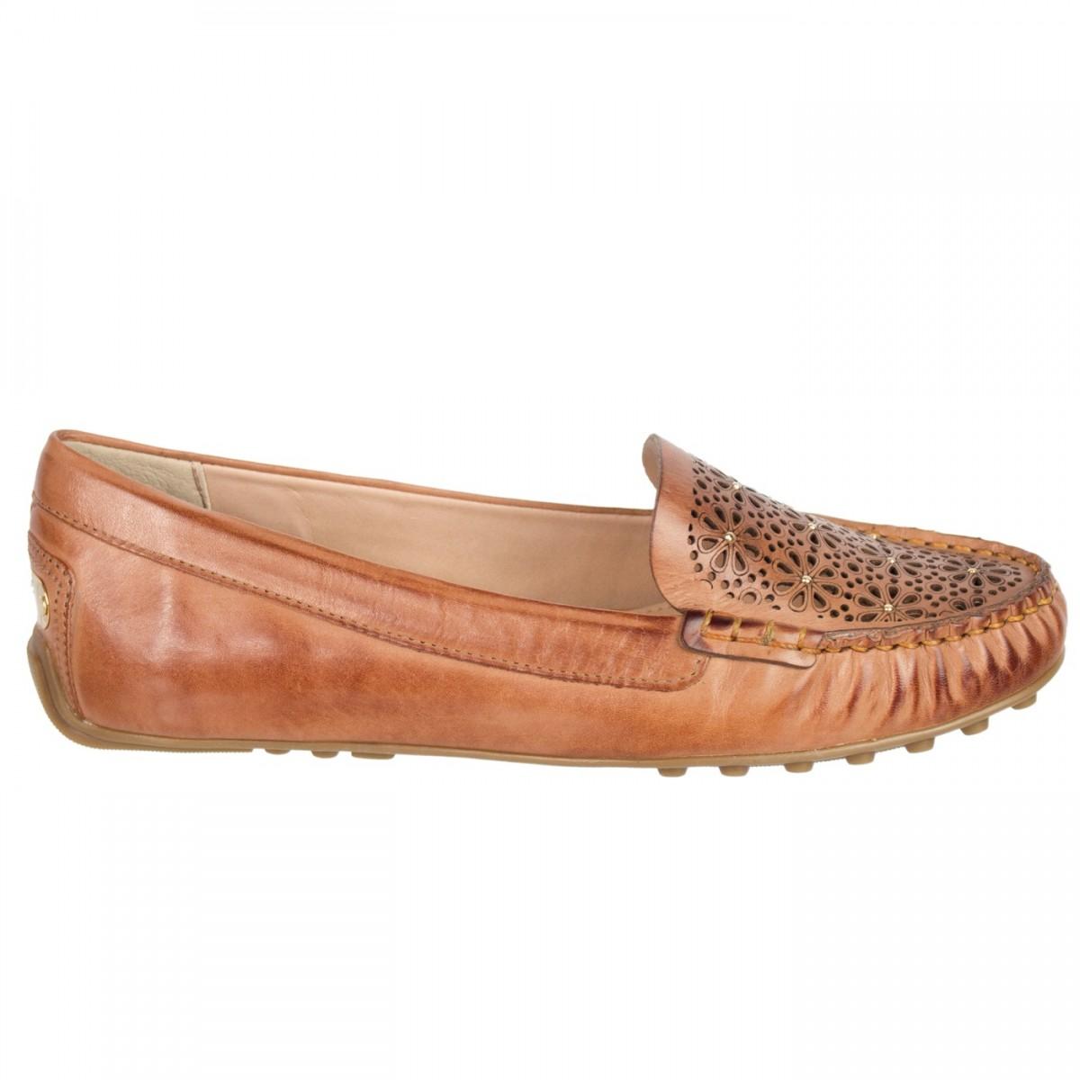 304755129d Bizz Store - Mocassim Feminino Verofatto Couro Legítimo Camel