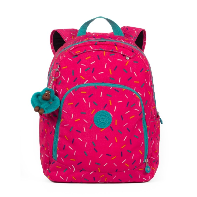 416e46b81 Bizz Store - Mochila Feminina Kipling Carmine Grande Pink