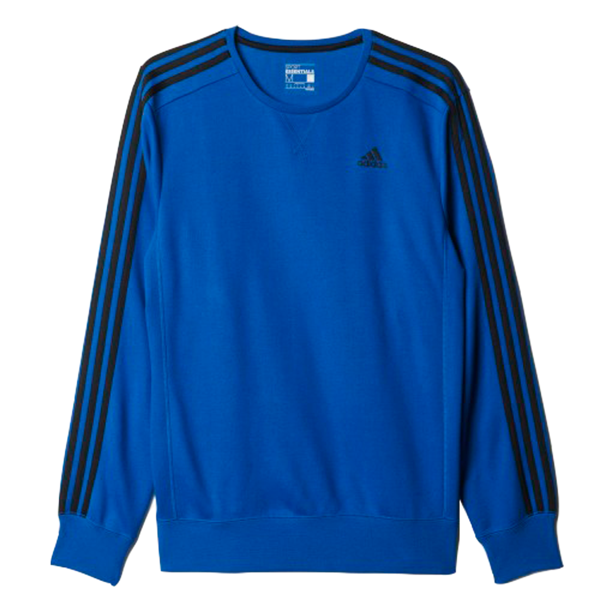 f1fa2714c7c Bizz Store - Moletom Masculino Adidas Ess 3s Crew FT Azul