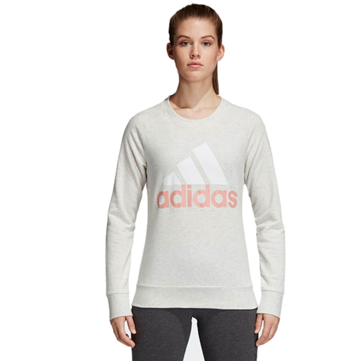 ed5de7a7bf2 Bizz Store - Moletom Feminino Adidas Essentials Linear Sweat
