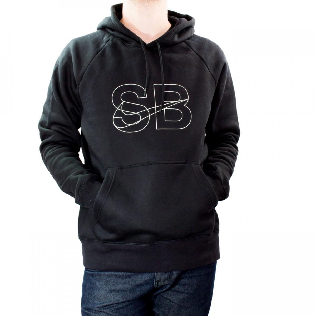 d8ed43bf5a 63311a1c080 Bizz Store - Moletom Masculino Nike Icon Hoodie Stencil Com  Capuz ...
