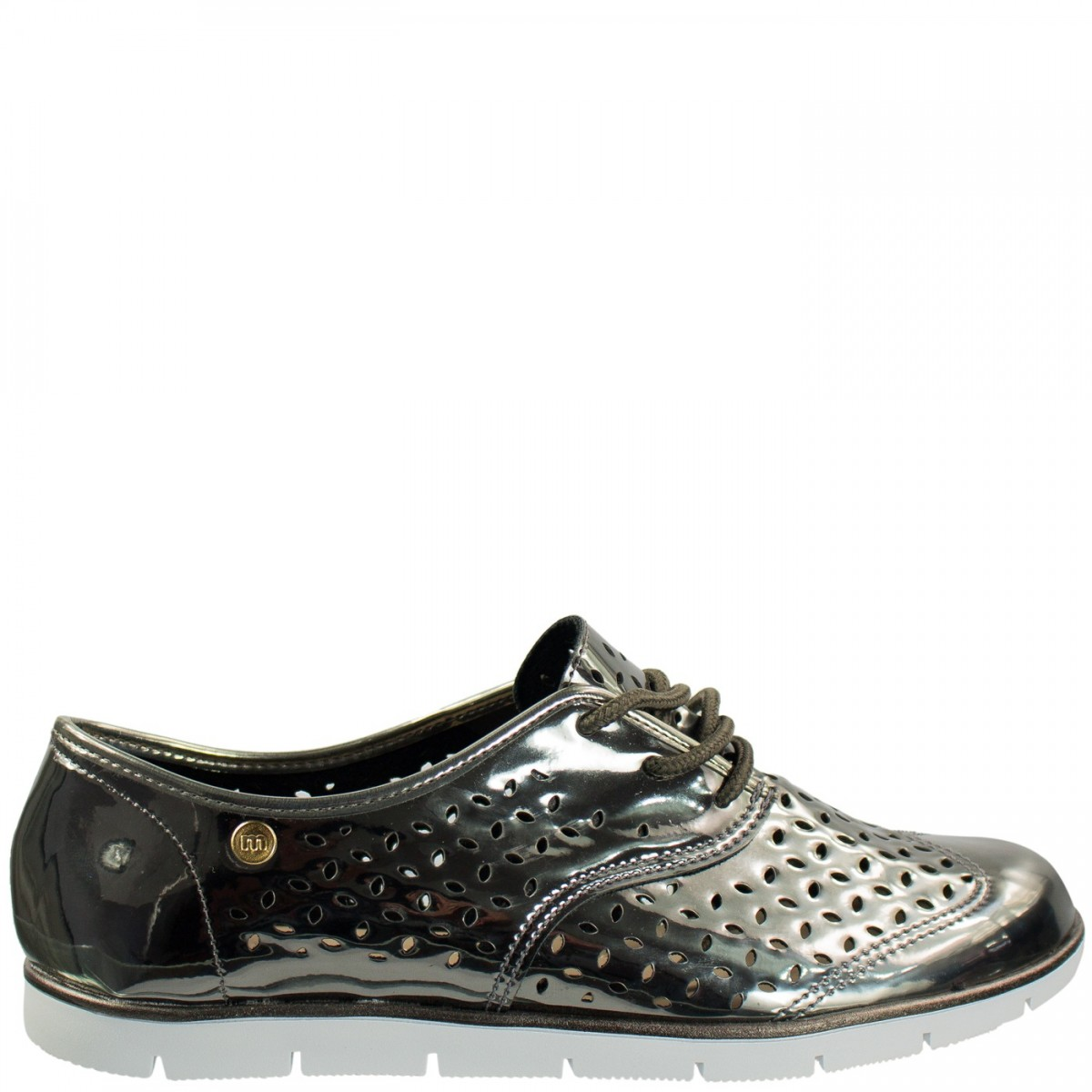 f04126e47 Bizz Store - Tênis Oxford Feminino Moleca Metalizado