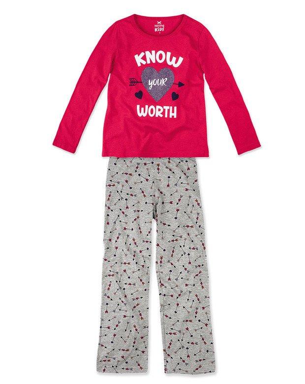 0ca51f3bb0e02e Pijama Comprido Infantil Hering Kids 56qqkbn10