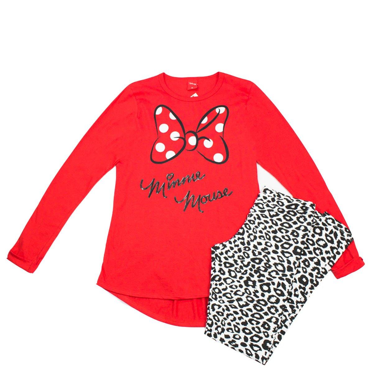 3530dc8c4bf7b3 Pijama Feminino Lupo Minnie 24060