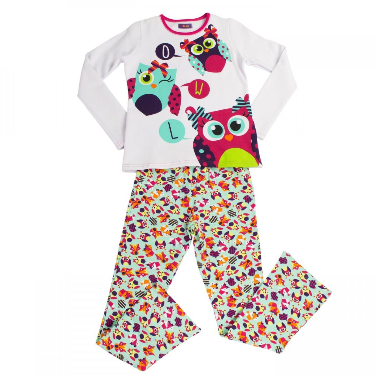 38aa862bb Bizz Store - Pijama Longo Infantil Menina Puket Peluciado