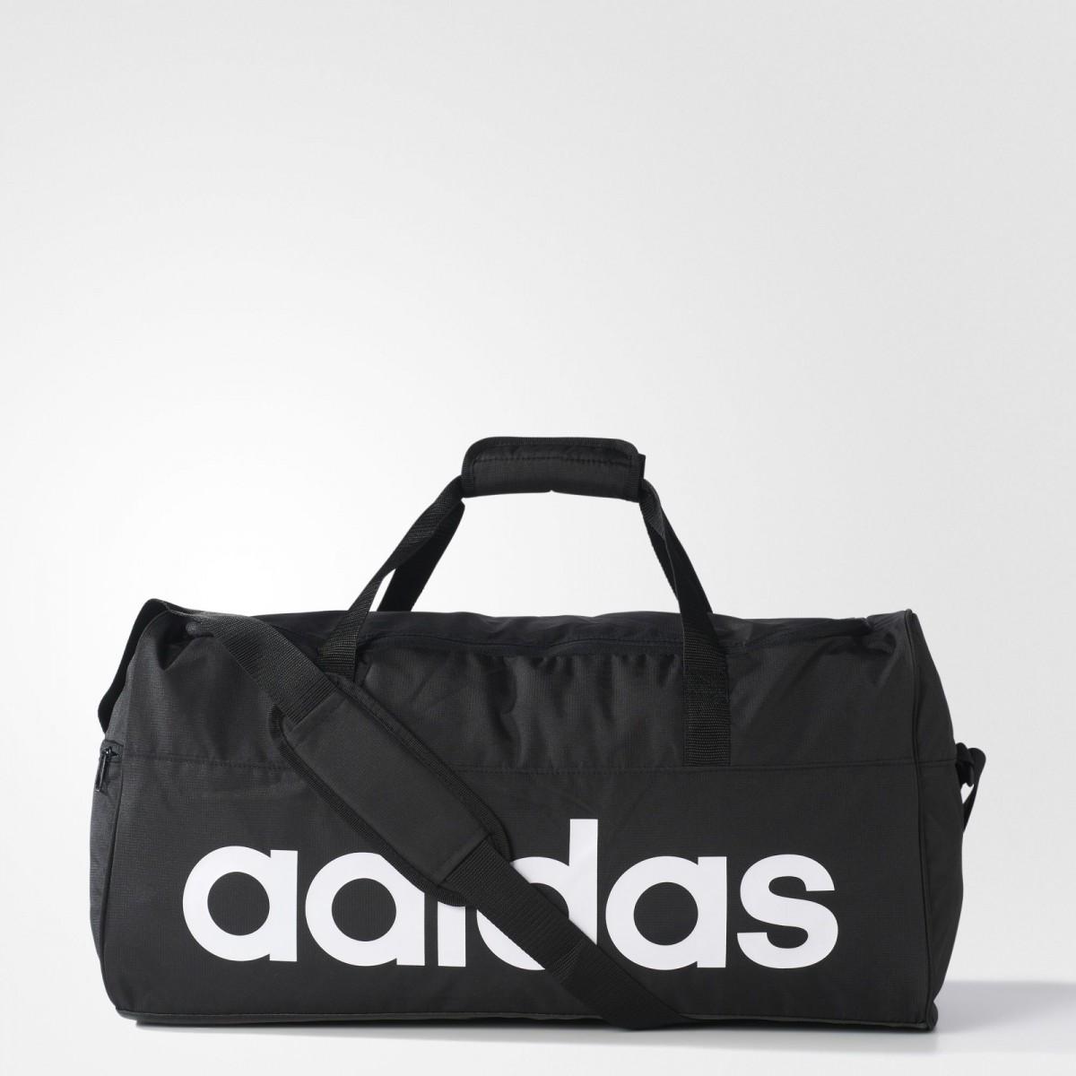 55c1cbff3ddc4 Bizz Store - Sacola de Viagem Adidas Essentials Preta Esportiva