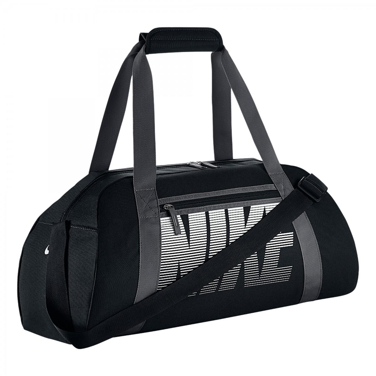 Bizz Store - Sacola De Viagem Nike Gym Club Preto Rosa Esportiva 72b0e7e5f7a