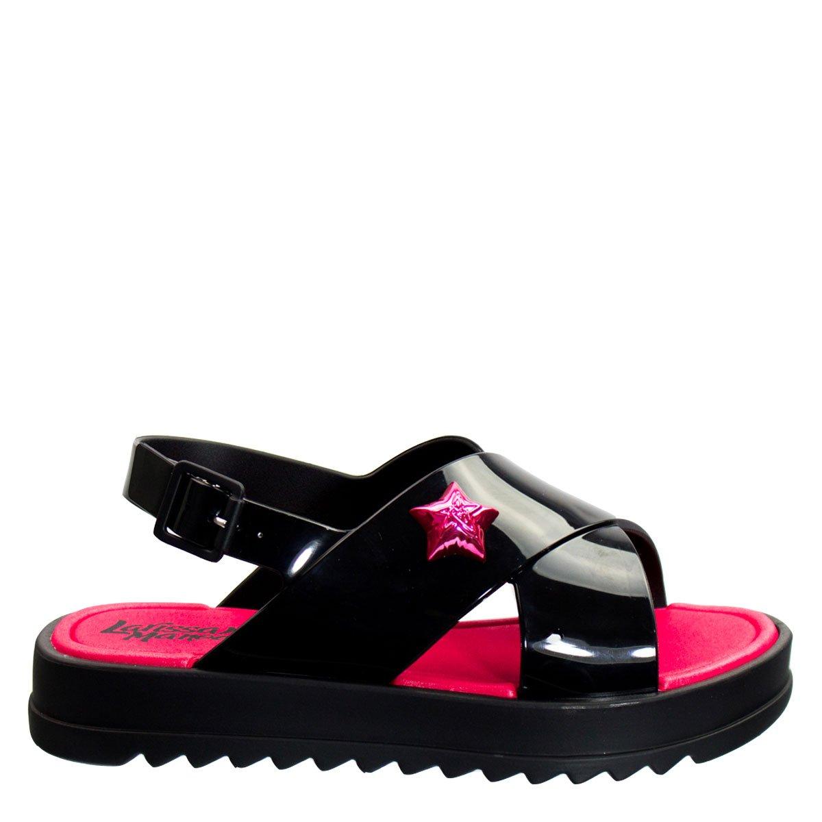 590369a48 Bizz Store - Sandália Flat Infantil Grendene Larissa Manoela