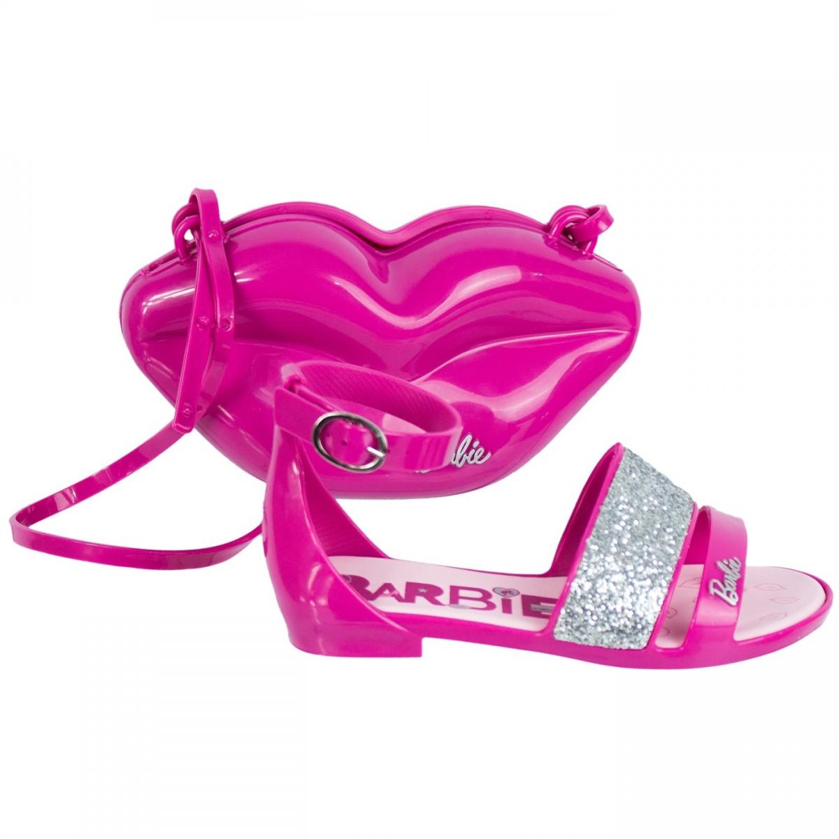 cce4c5461 Bizz Store - Sandália Infantil Grendene Barbie Pop Glan C/ Bolsa