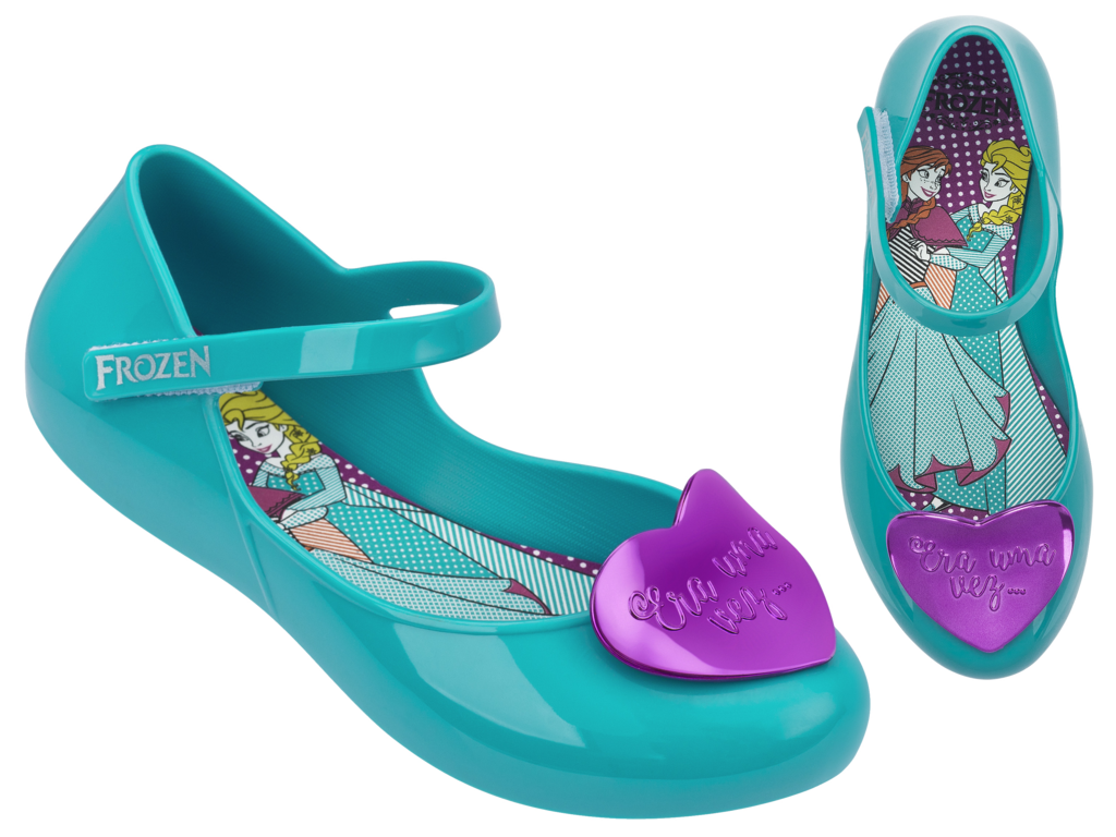 42f2440287 Bizz Store - Sapatilha Infantil Grendene Disney Frozen Azul