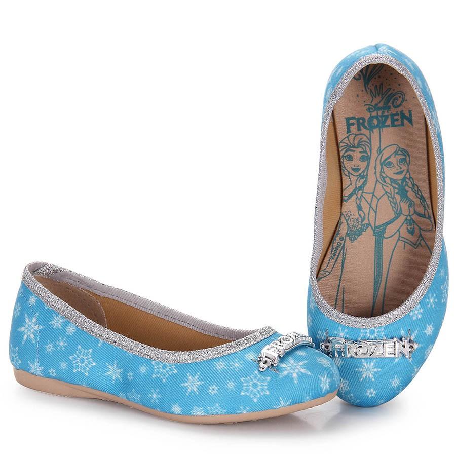 504521255b Bizz Store - Sapatilha Infantil Feminina Grendene Frozen Ice Azul