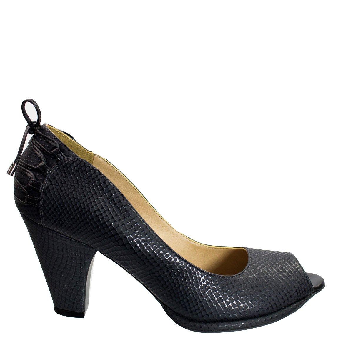 Bizz Store - Sapato Peep Toe Feminino Cristófoli Katty Couro f8686dc7fd8c1