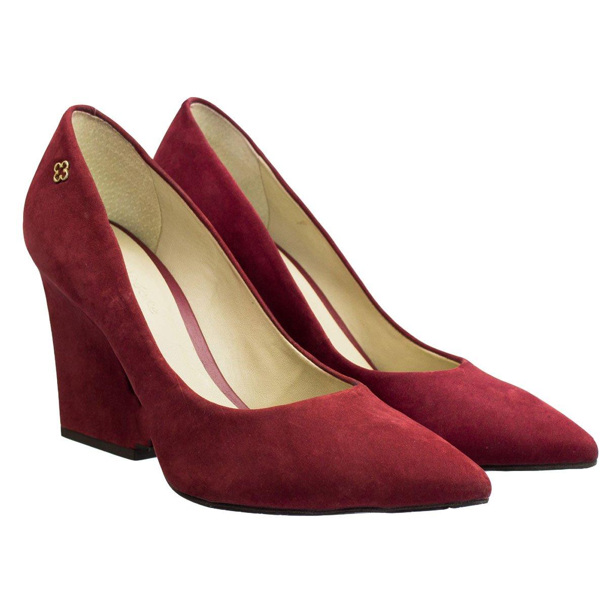 94fab31932 Bizz Store - Sapato Feminino Capodarte Nobuck Bico Fino
