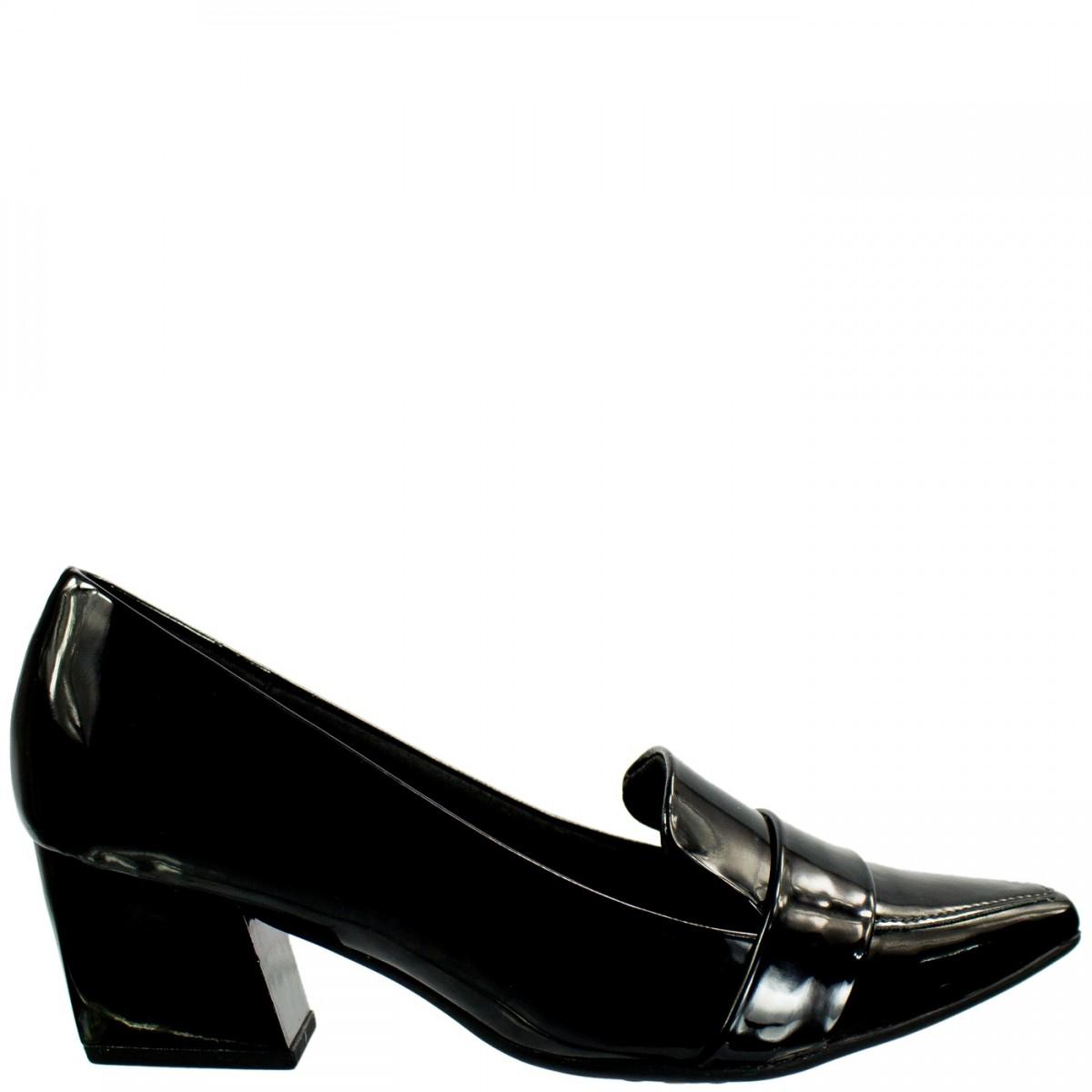 b579cf51b5 Bizz Store - Sapato Scarpin Feminino Piccadilly Verniz Preto