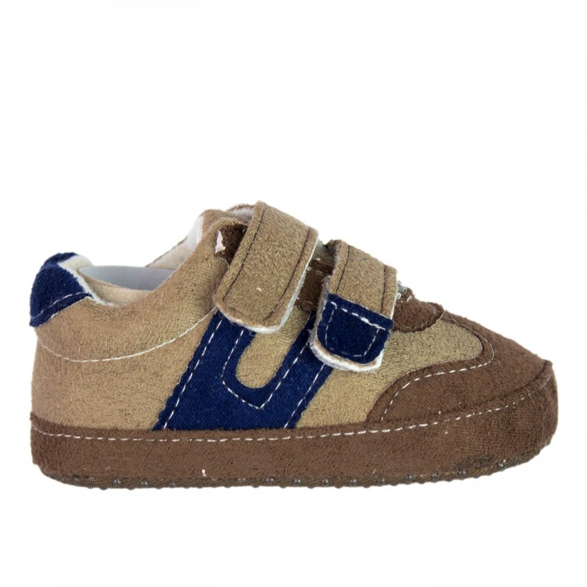 7bd924f3ac Bizz Store - Sapato Infantil Masculino Tip Top Bebê Marrom