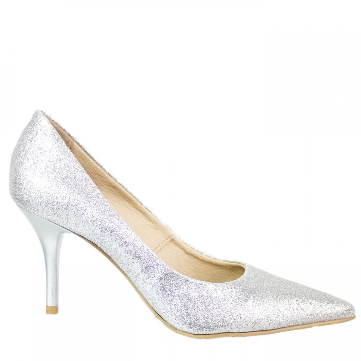 fdfcf7ce0 Bizz Store - Scarpin Feminino Miucha Glitter Social Salto Médio