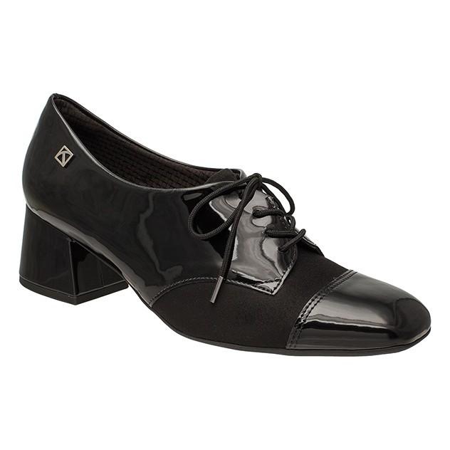 e5f56d8ae Bizz Store - Sapato Oxford Feminino Piccadilly Verniz Preto