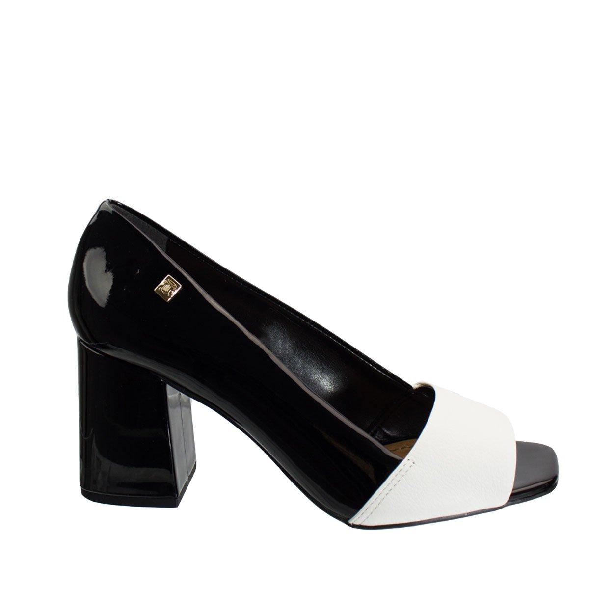 812c32bc32 Bizz Store - Sapato Peep Toe Feminino Loucos e Santos Snake