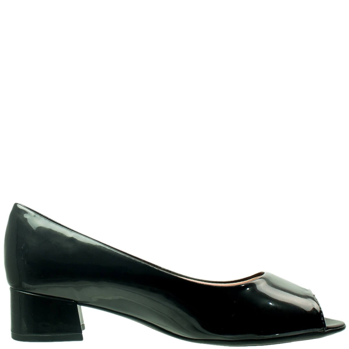 29be9f49f Bizz Store - Sapato Peep Toe Feminino Piccadilly Alarm Free Verniz