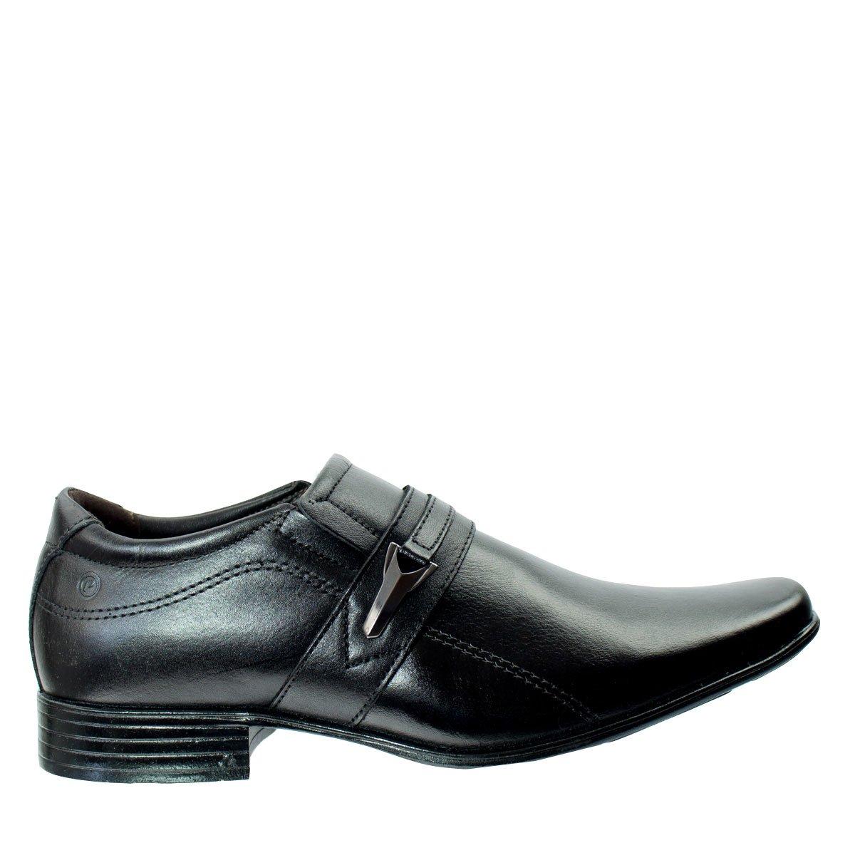 e3aa04a16 Bizz Store - Sapato Social Masculino Pegada Anilina Preto