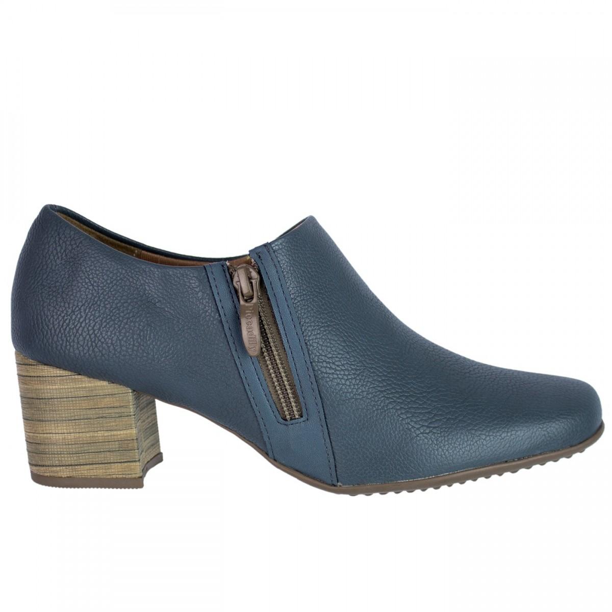 05854dac0 Bizz Store - Sapato Feminino Piccadilly Relax Couro Sintético