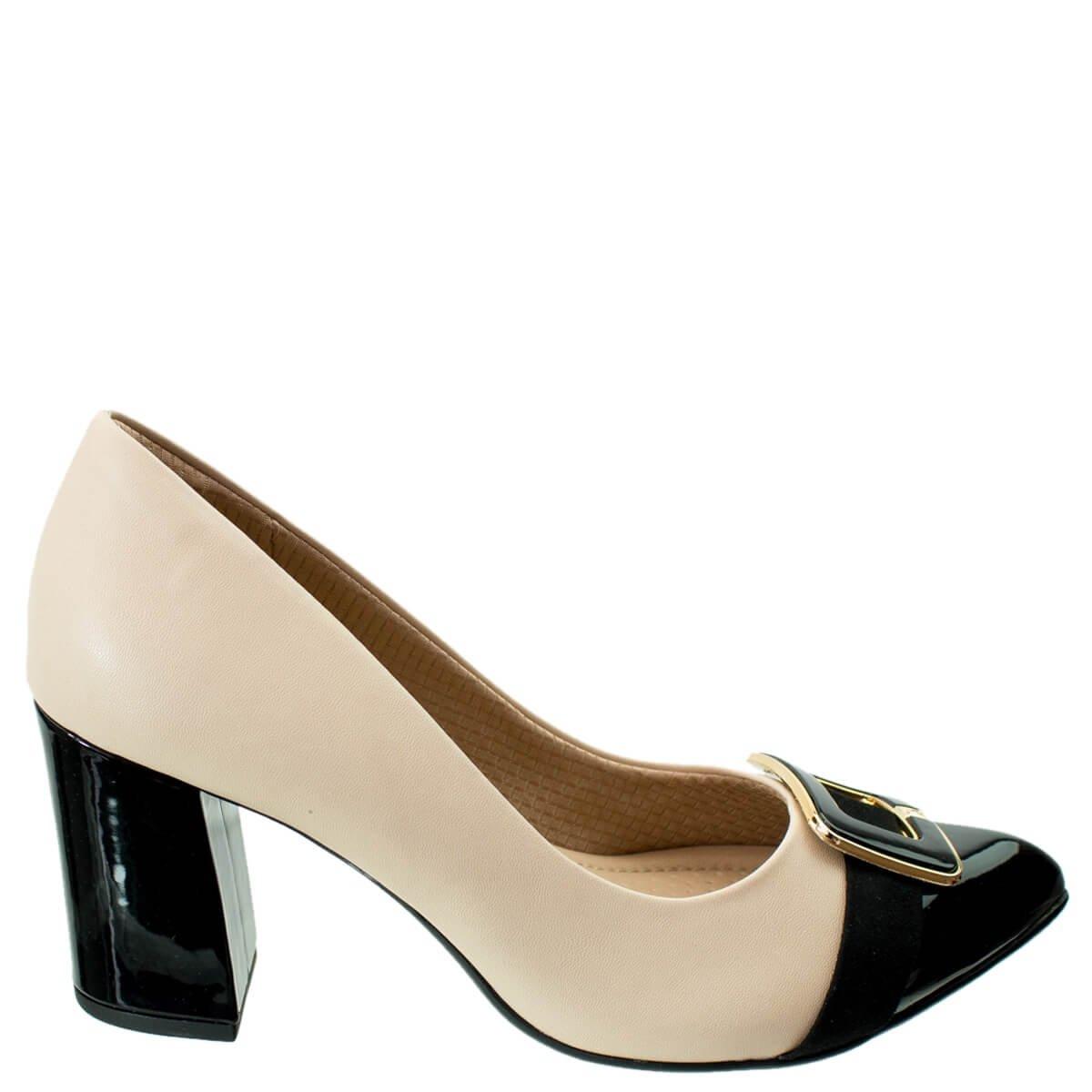 f13a2b957 Bizz Store - Sapato Scarpin Feminino Piccadilly Salto Grosso