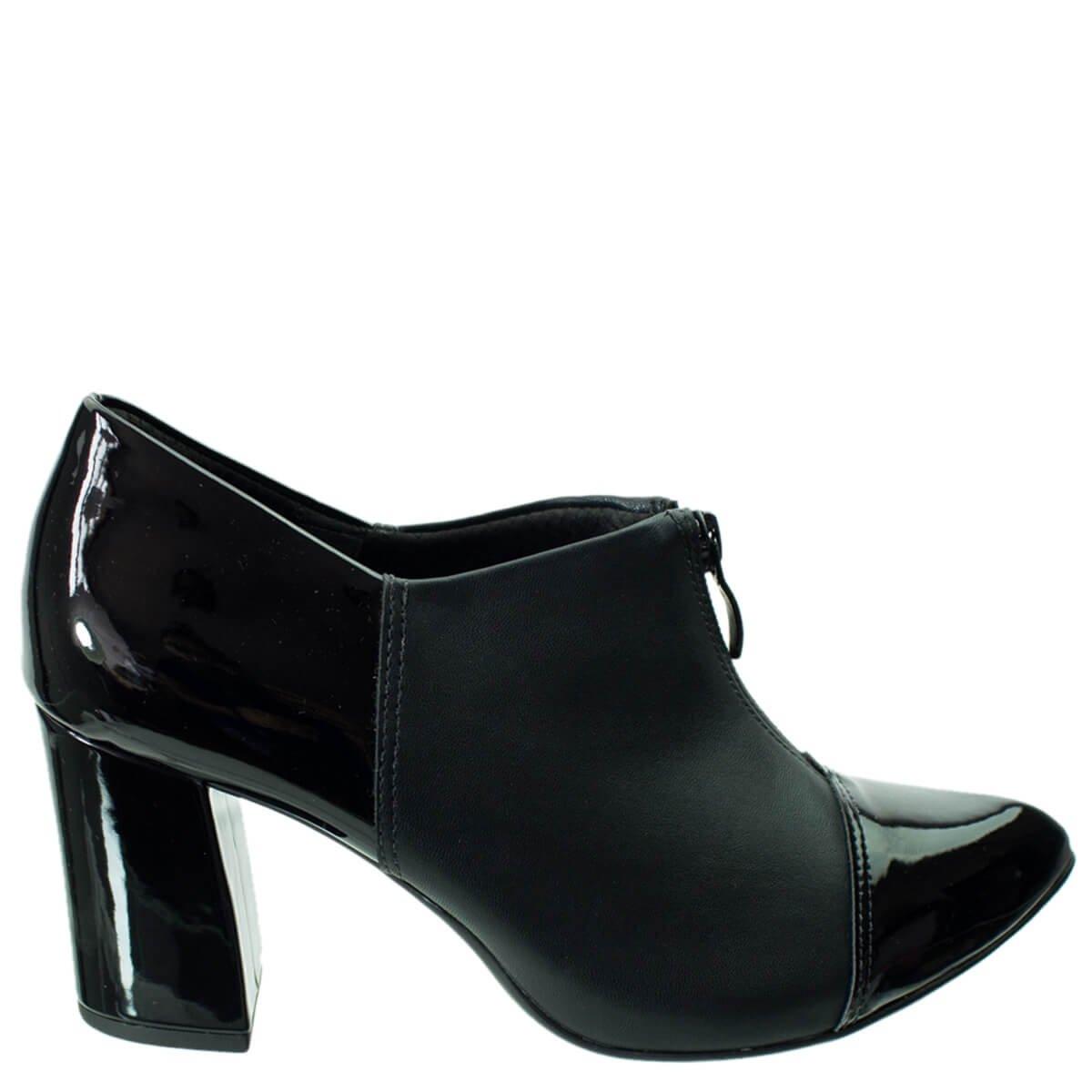 bb3d055e20 Bizz Store - Ankle Boot Feminina Piccadilly Salto Grosso