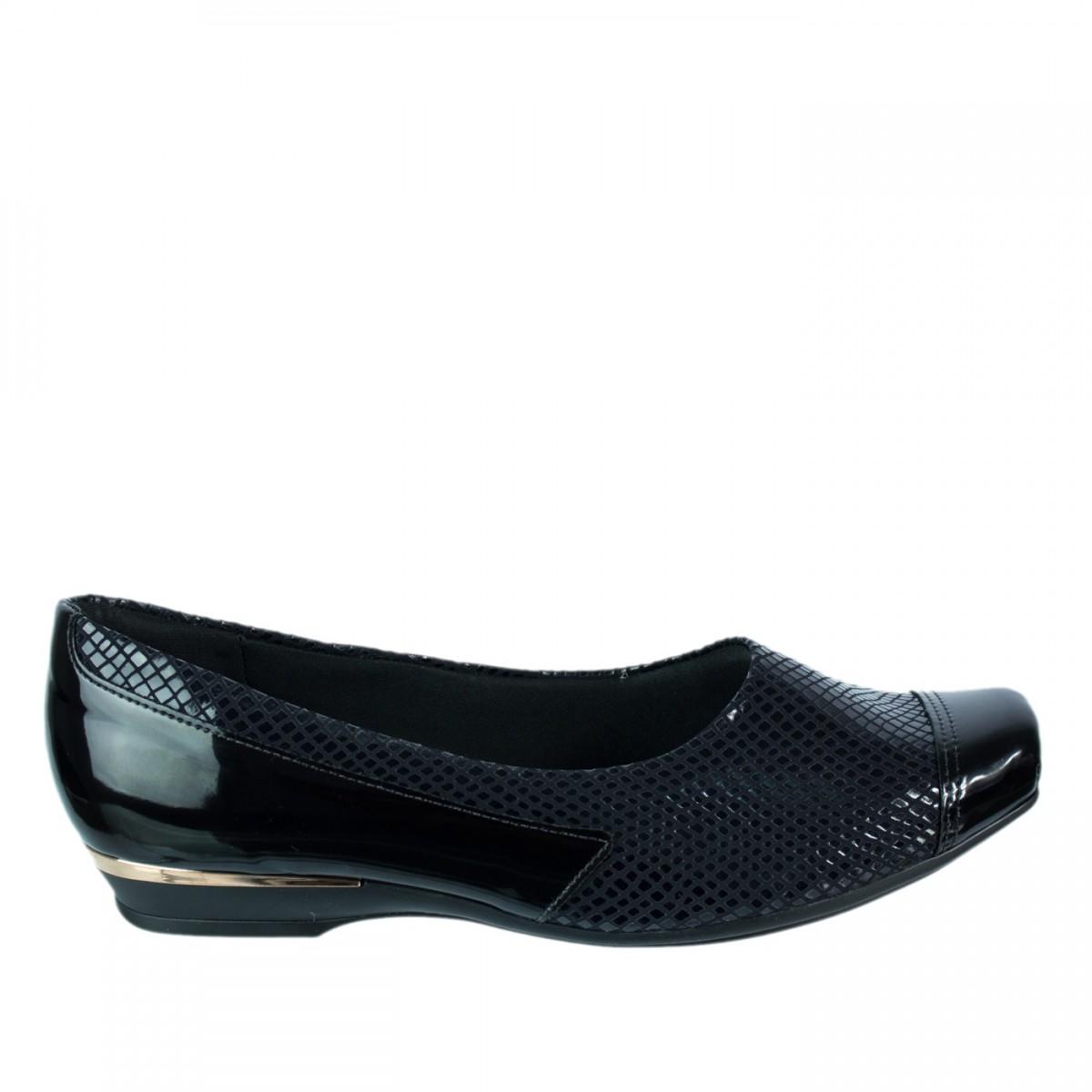 d402ff8b2 Bizz Store - Sapato Feminino Para Joanete Piccadilly Preto