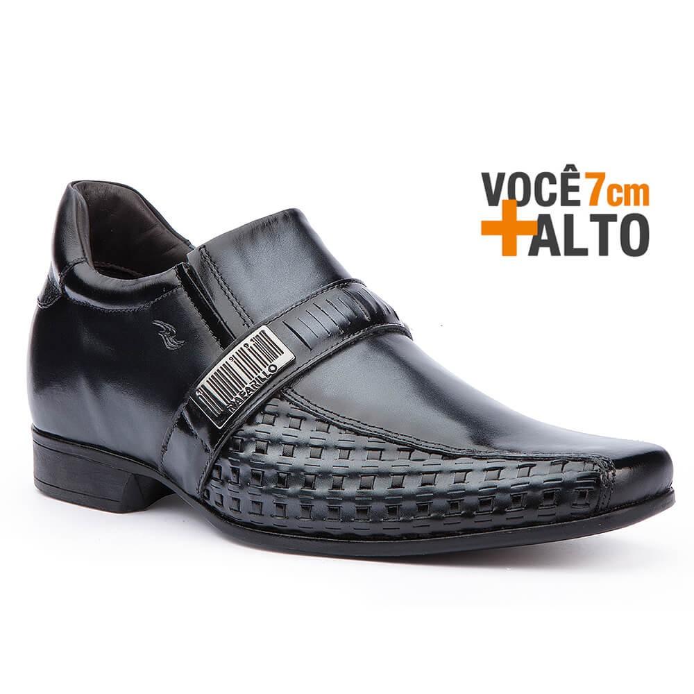 4684233b1 Bizz Store - Sapato Social Masculino Rafarillo Alth Você + Alto