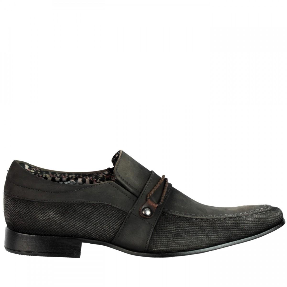 21ac68260 Bizz Store - Sapato Social Masculino Rafarillo Magnum Cinza
