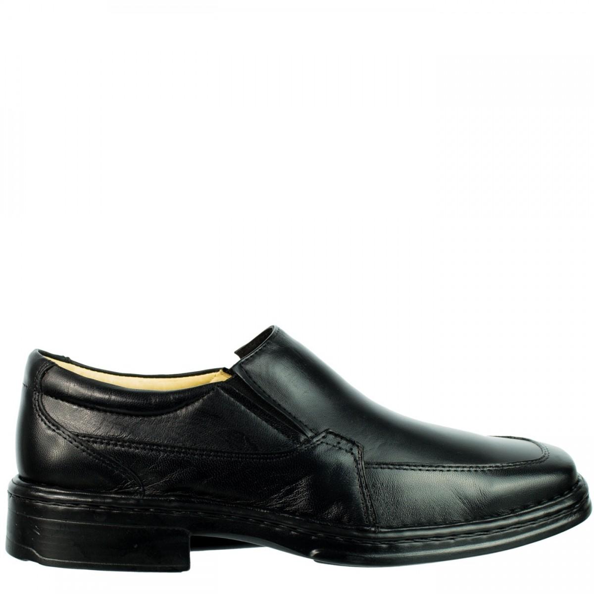 1d409eacdc89f Bizz Store - Sapato Social Masculino Viepper Couro Legítimo Preto