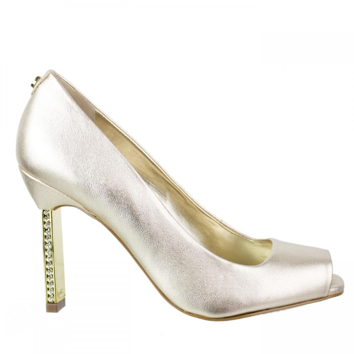 fbd0113931 Bizz Store - Sapato Feminino Peep Toe Jorge Bischoff Salto Alto
