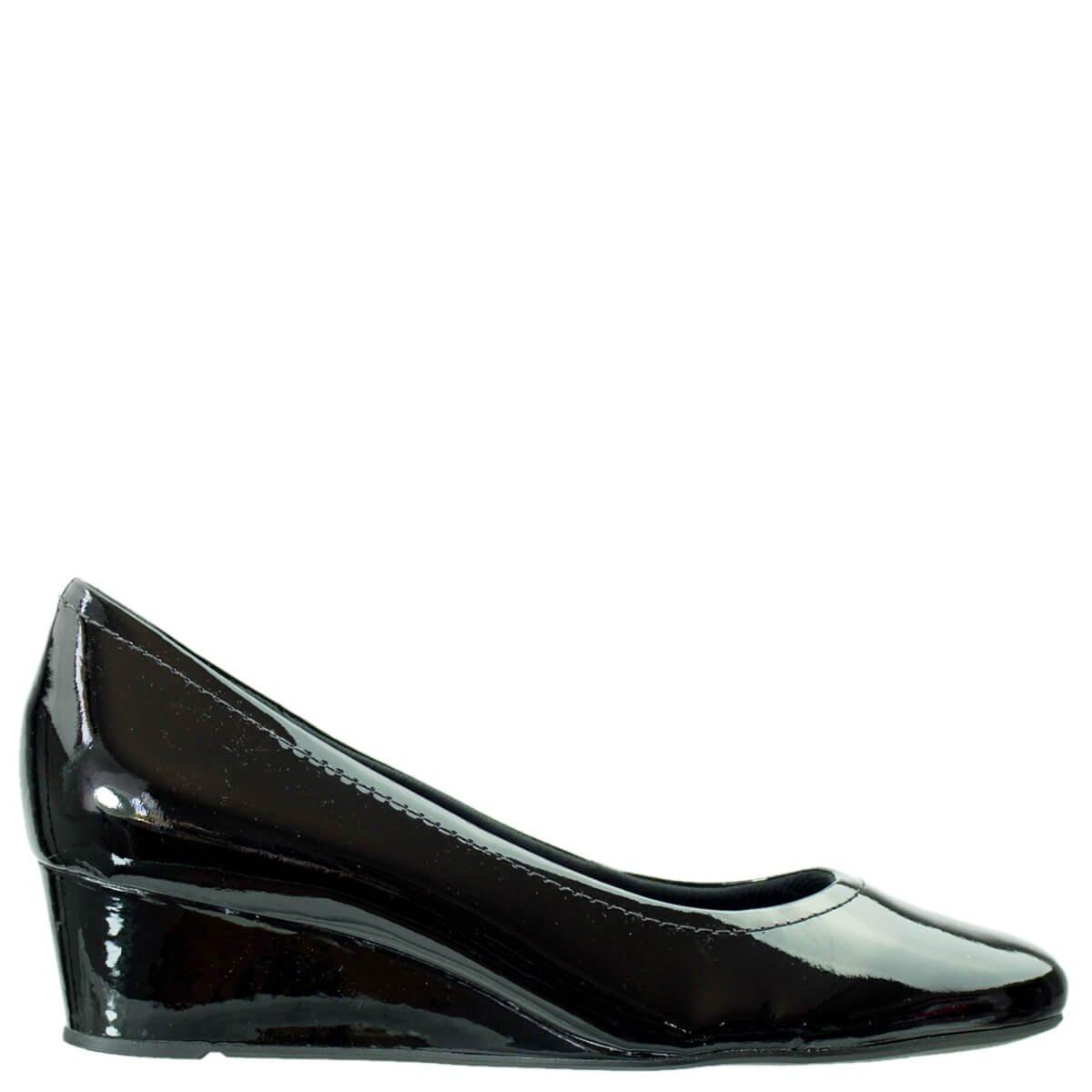 07755de8c Bizz Store - Sapato Feminino Usaflex Luxor Salto Anabela