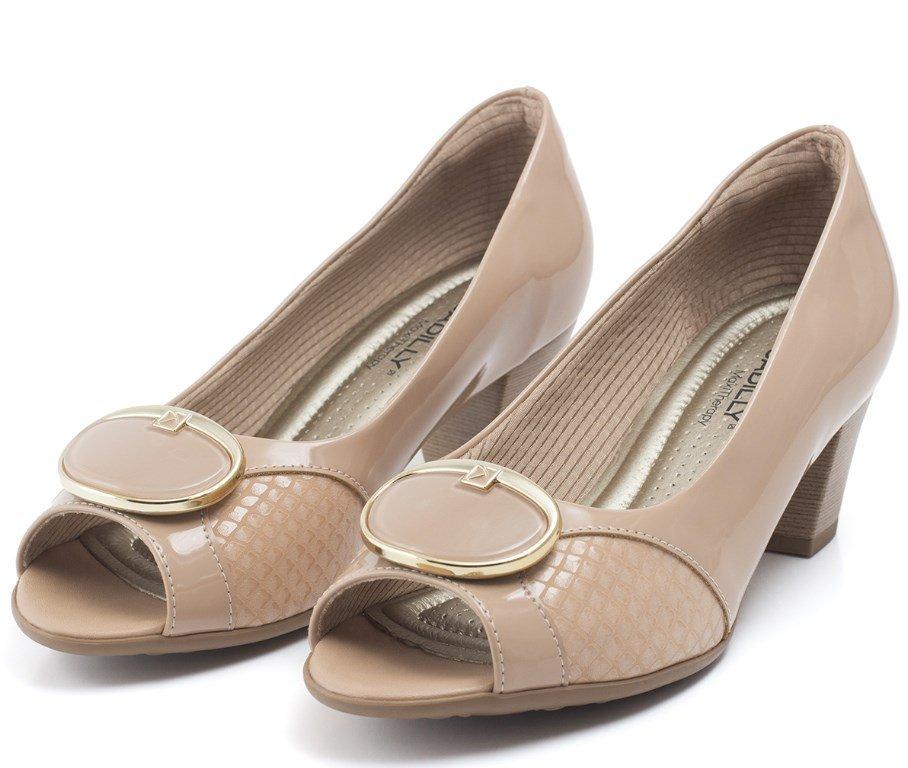 8e652d0c45 Bizz Store - Sapato Feminino Piccadilly Salto Médio