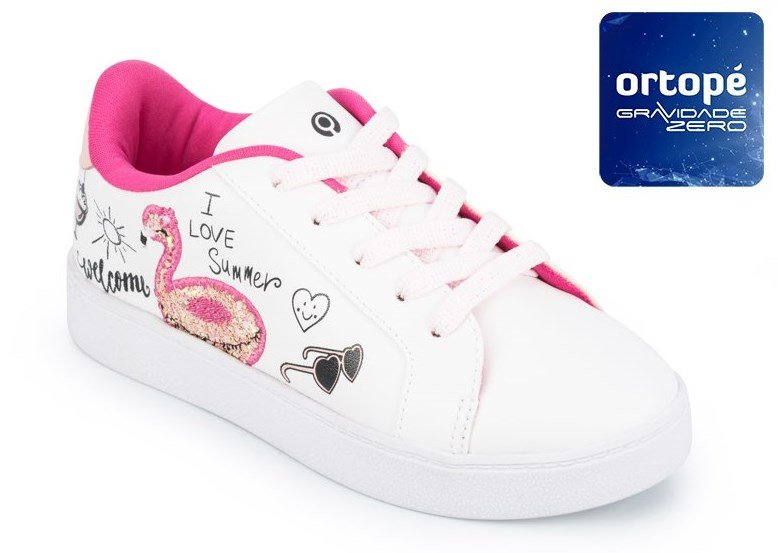 5f49dedfc9203 Bizz Store - Tênis Infantil Menina Ortopé Flatform