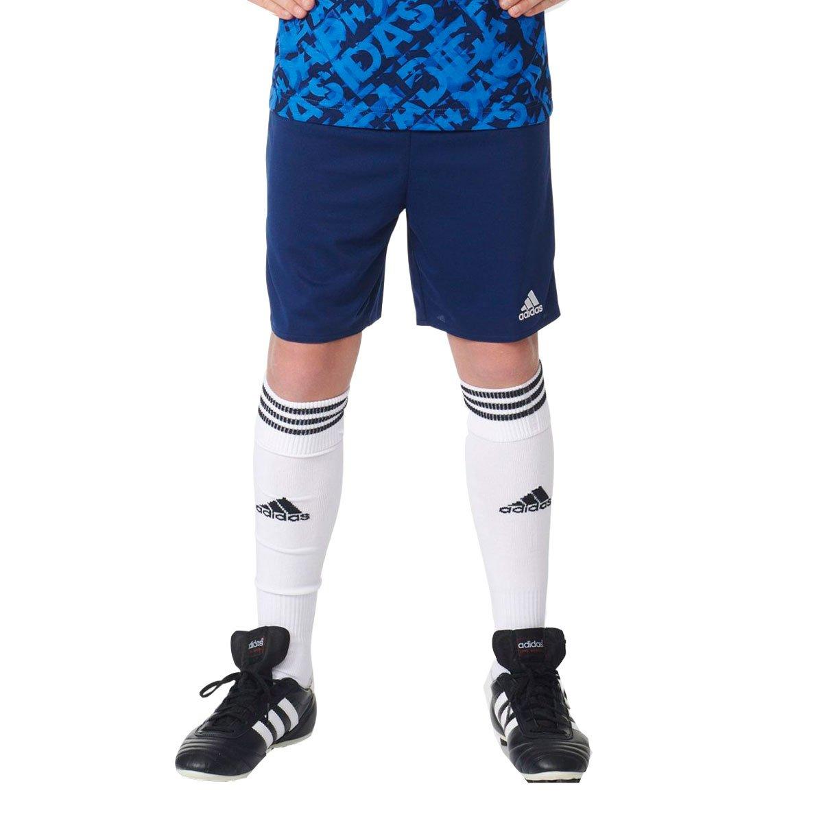 Bizz Store - Shorts Infantil Masculino Adidas Parma 16 Preto 64e4838f9f6d8