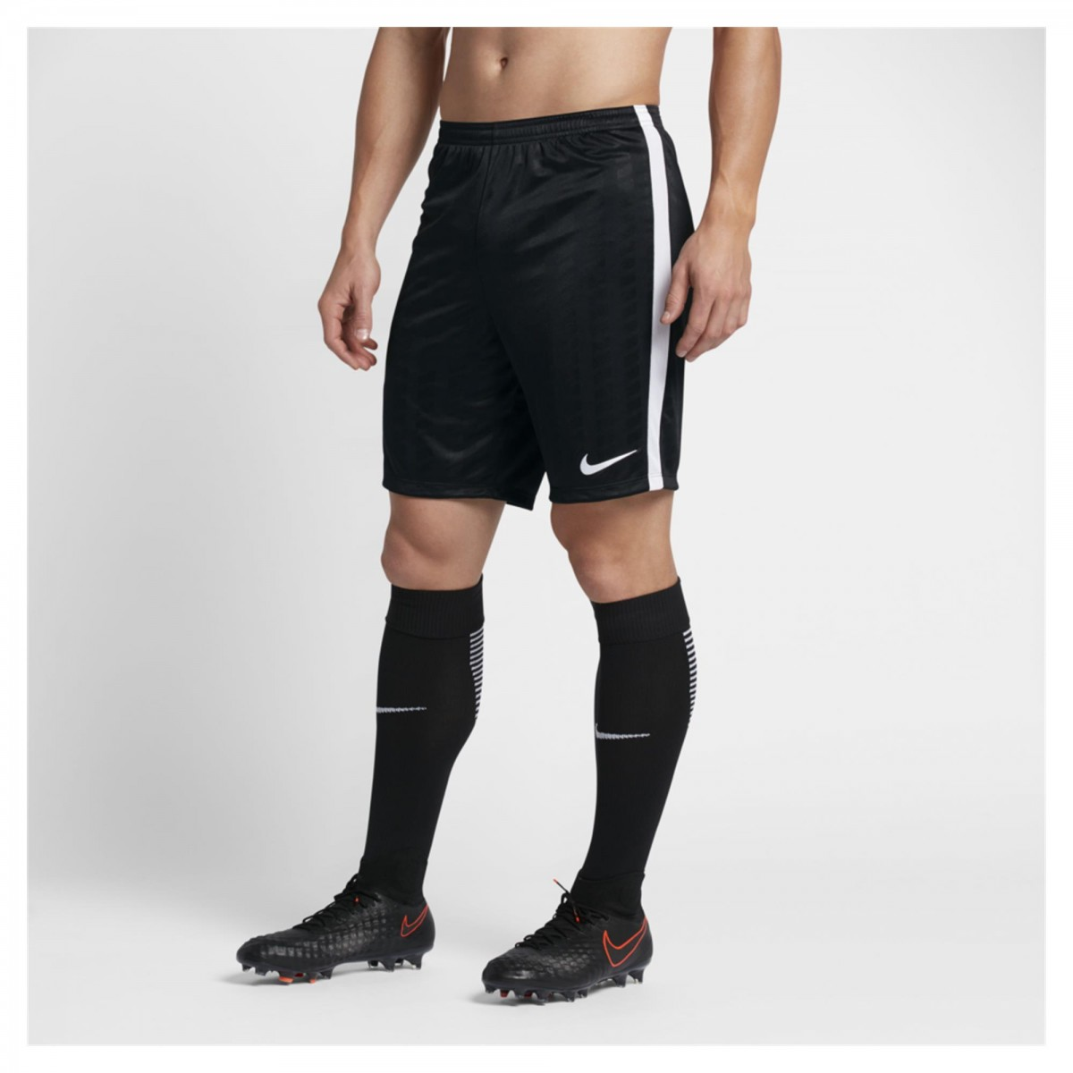 b6fc7397cf Bizz Store - Shorts Masculino Nike Academy Jacquard Futebol Preto