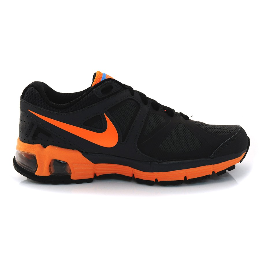 df4178b7e05 Tênis Air Max Run Nike 555643 - Preto laranja