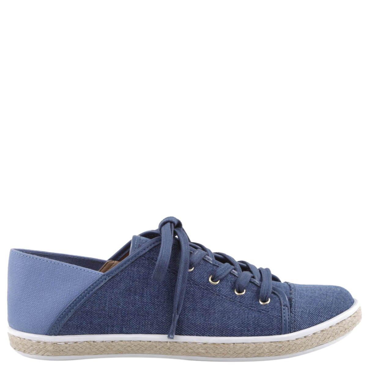 fe72806b7b9 Bizz Store - Tênis Feminino Arezzo Jeans Lona
