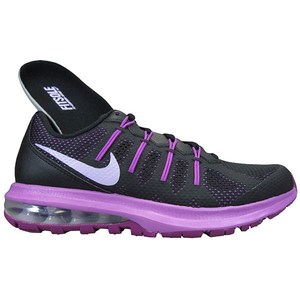 Bizz Store - Tênis Feminino Nike Air Max Dynasty Preto Roxo fd5652d04d