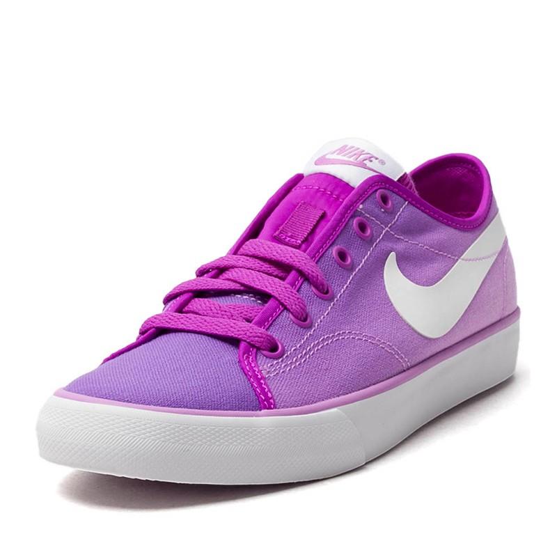 Tênis Feminino Nike Primo Court Canvas Pin 654652-001 - Lilás  b803416234451