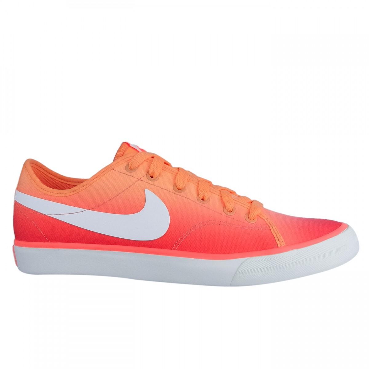 Tênis Feminino Nike Primo Court Canvas Pin 654652-001 - Laranja ... 07aff8f67992f