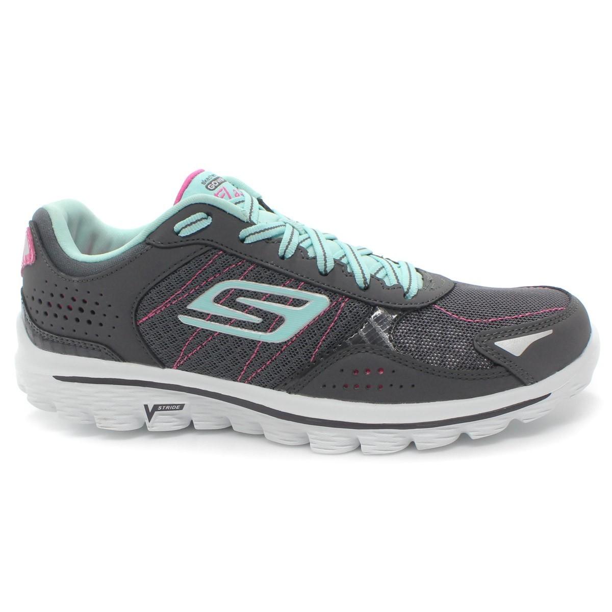 e07530b712 Bizz Store - Tênis Feminino Skechers GO Walk 2 Flash Corrida