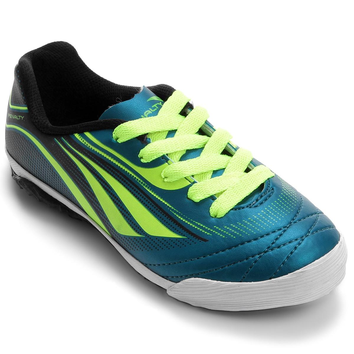 Tênis Futsal Penalty 116064 7026 Rocket - Azul amarelo  250a5208c580e