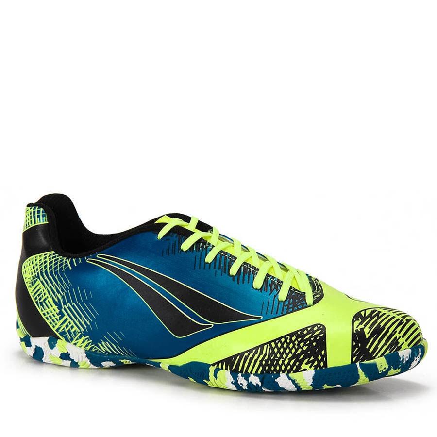 ec271abf18 Tênis Futsal Penalty 124057 9030 Victoria - Azul amarelo preto ...
