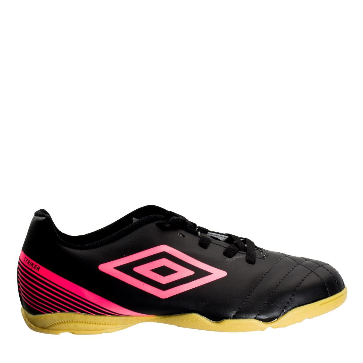77baa0321a75c Bizz Store - Chuteira Feminina Futsal Umbro Striker III Preta